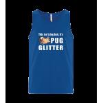 Pug Glitter Unisex Tank Top