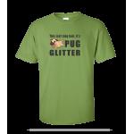 Pug Glitter Unisex Tee