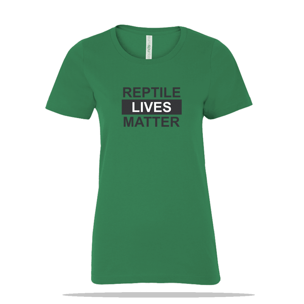 Reptile Lives Matter Ladies Tee