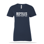 Reptiles People Suck Ladies Tee
