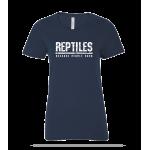 Reptiles People Suck Ladies Tee