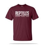 Reptiles People Suck Unisex Tee