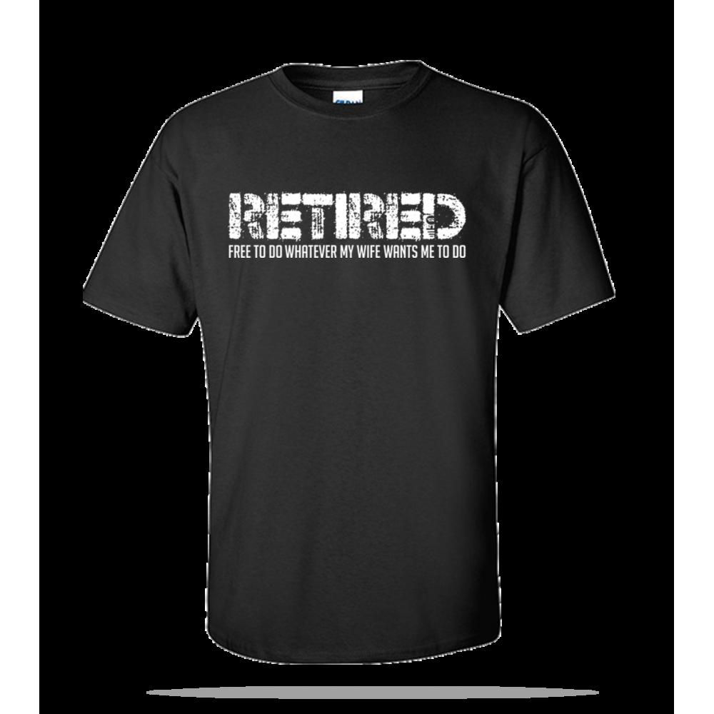 Retired Free Unisex Tee