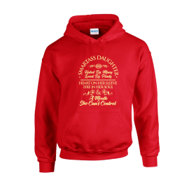 Smart Ass Daughter Unisex Hoodie