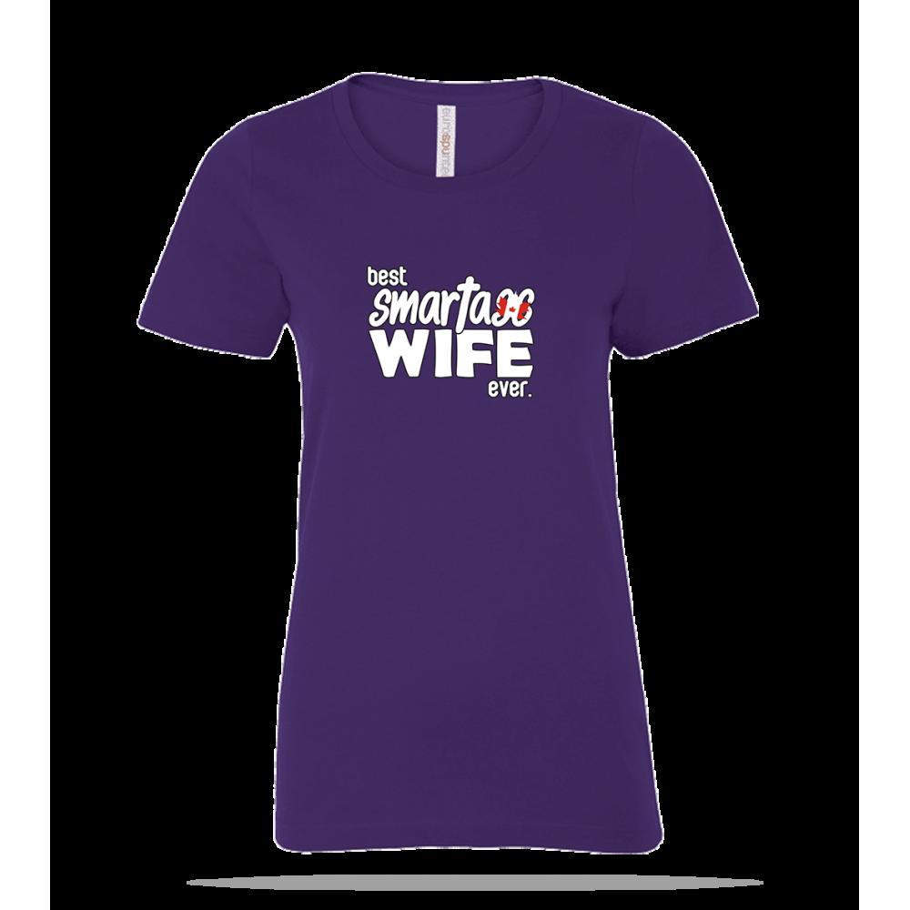 Smart Ass Wife Ladies Tee