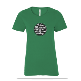 Sound Of You Ladies Tee