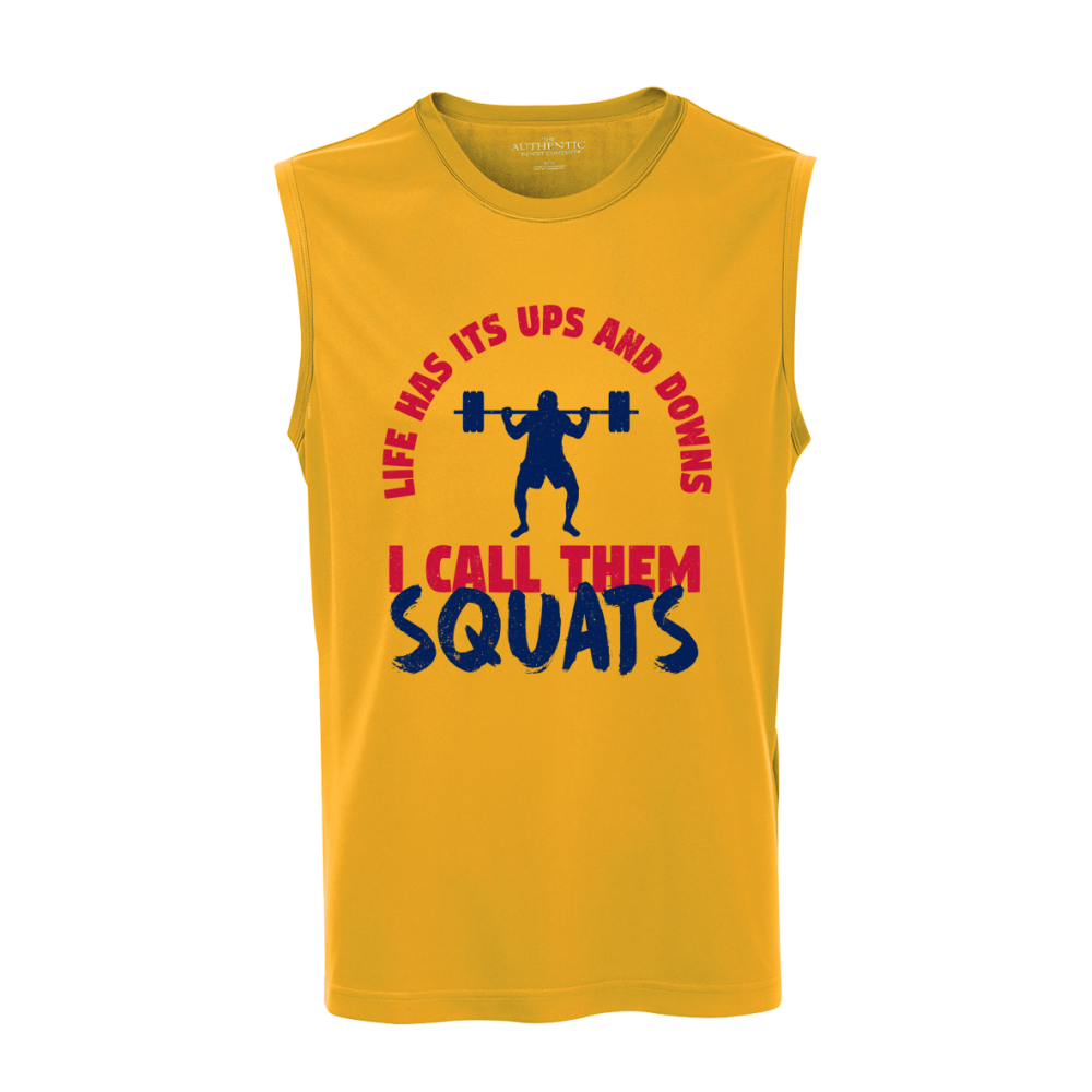 Squats Unisex Sleeveless Top