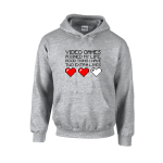 Two Extra Lives Unisex Hoodie