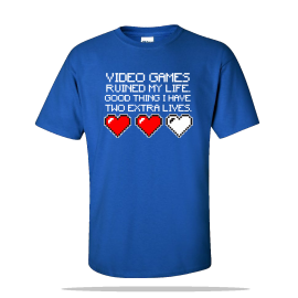 Two Extra Lives Unisex Tee