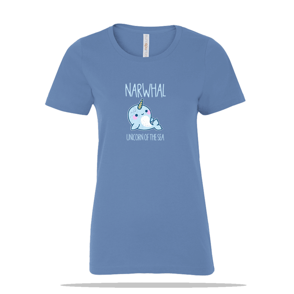 Unicorn Of Sea Ladies Tee