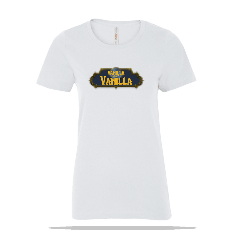 Vanilla Means Vanilla Ladies Tee