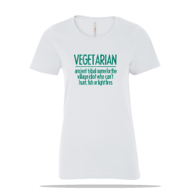 Vegetarian Ladies Tee