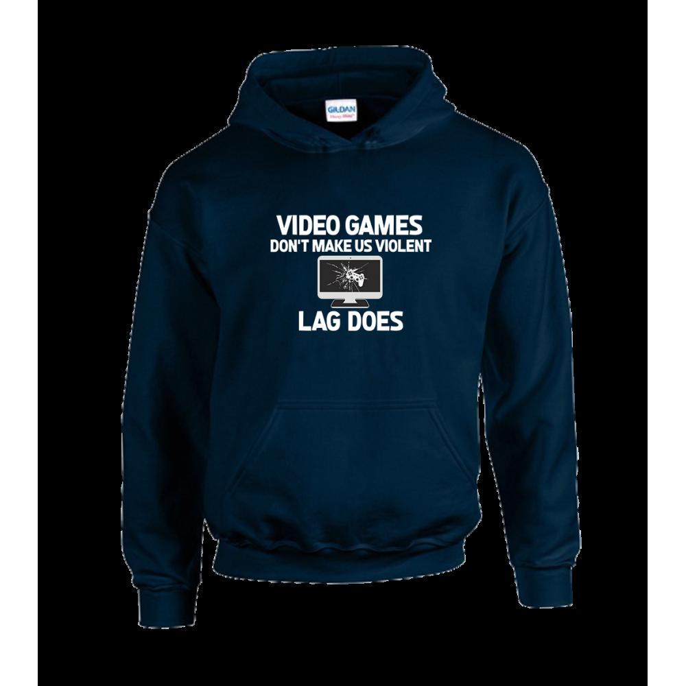 Video Games Violent Unisex Hoodie