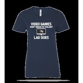 Video Games Violent Ladies Tee