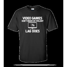 Video Games Violent Unisex Tee