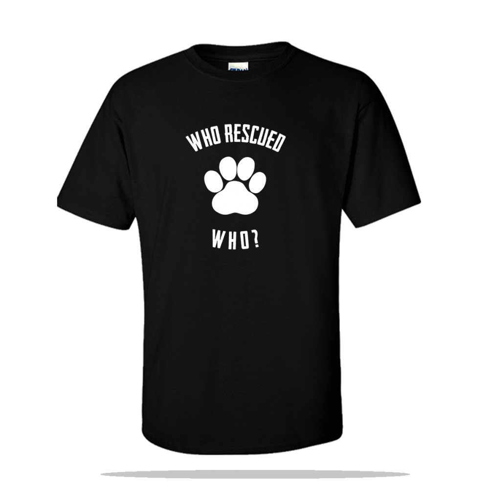 Who Rescued Unisex Tee