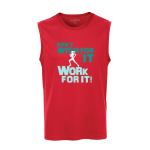 Work For It Unisex Sleeveless Top