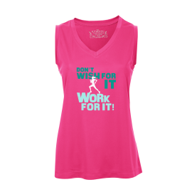 Work For It Ladies Sleeveless Top