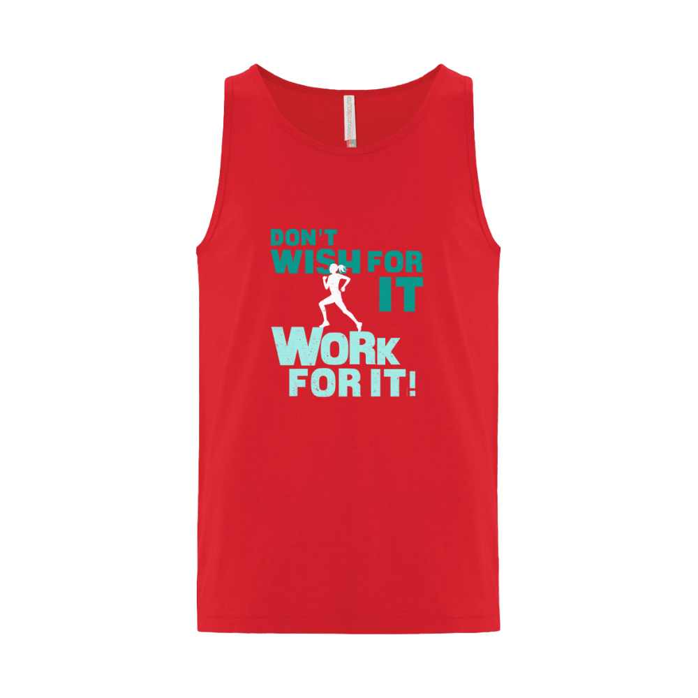 Work For It Unisex Tank Top