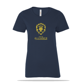World Of Warcraft Alliance Ladies Tee