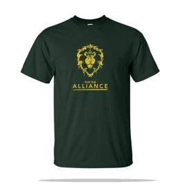 World Of Warcraft Alliance Unisex Tee