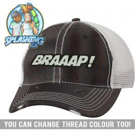 Braaap! Distressed Cap