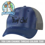 Fish On! Distressed Cap