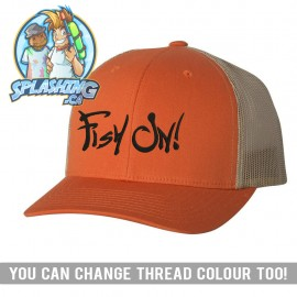 Fish On! Retro Trucker Cap