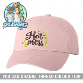 Hot Mess Custom Dad Cap