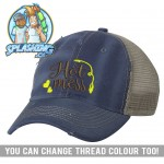 Hot Mess Custom Distressed Cap