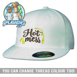 Hot Mess Custom Flexfit Cap