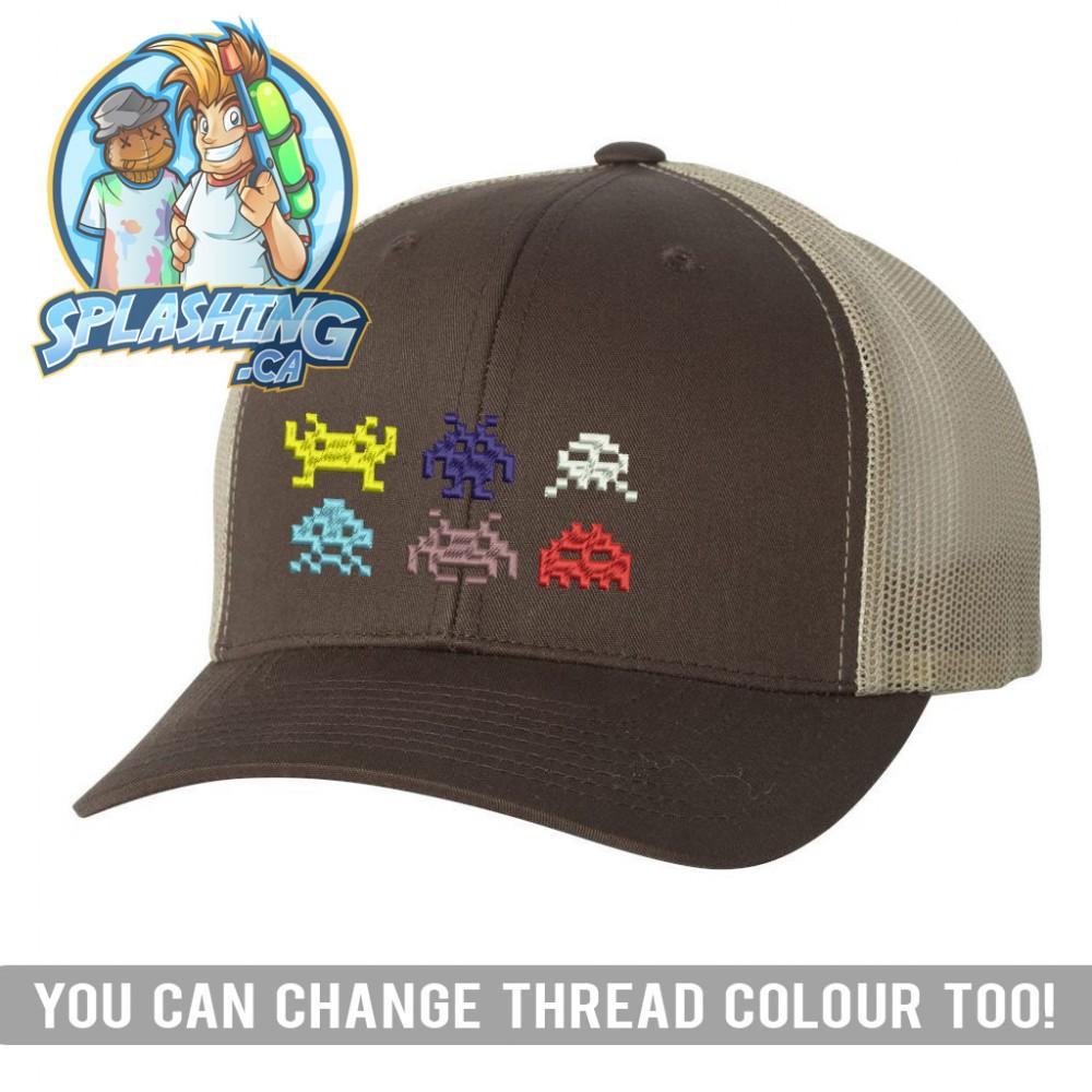 Invaders Custom Retro Trucker Cap