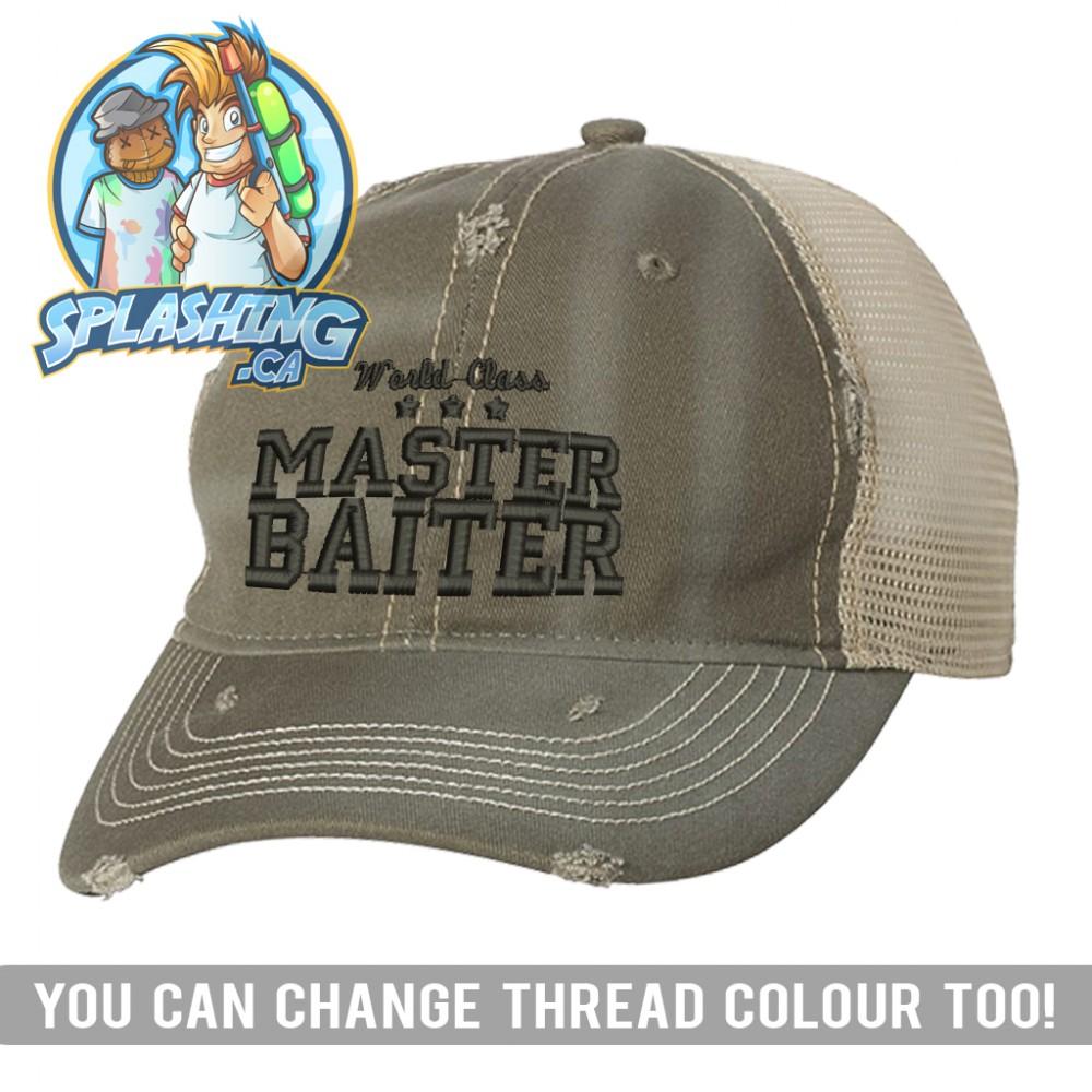 Master Baiter Custom Distressed Cap