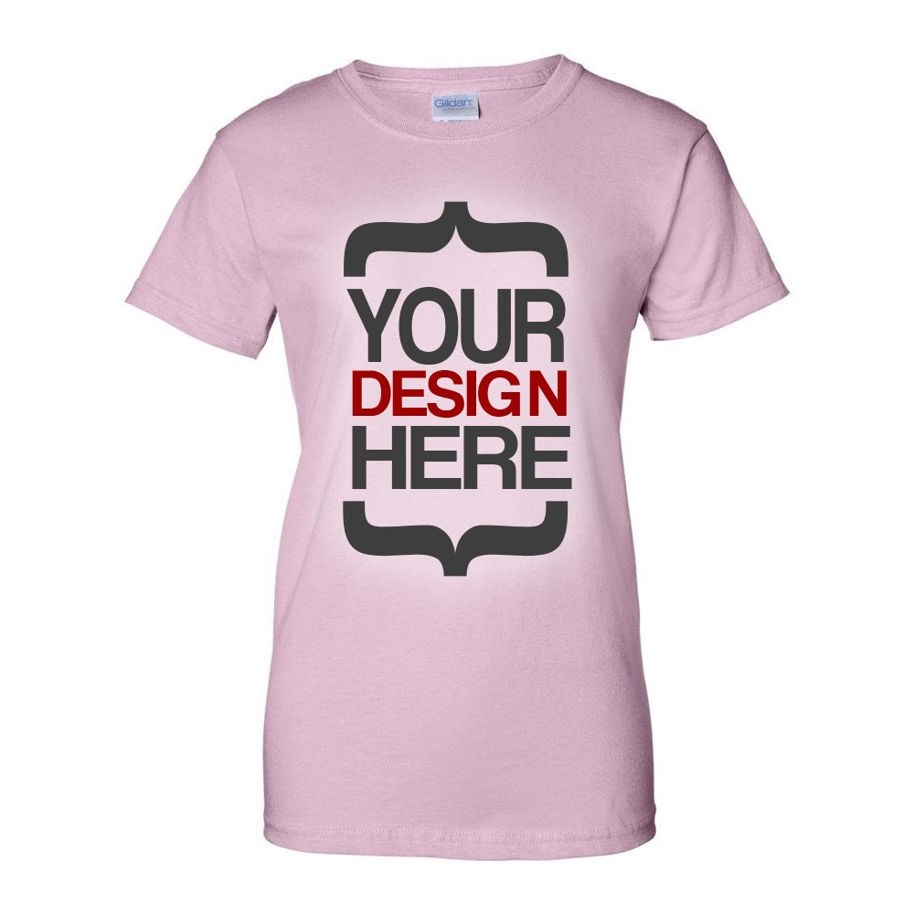 Design Your Own T-Shirt (Ladies)