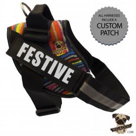 Rigadoo Dog Harness - Festive