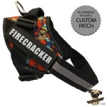Rigadoo Dog Harness - Firecracker