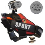 Rigadoo Dog Harness - GoPRO Red