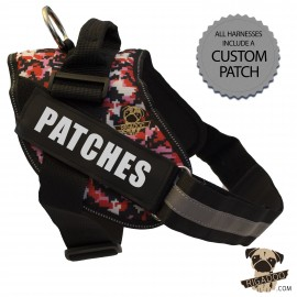 Rigadoo Dog Harness - Patches