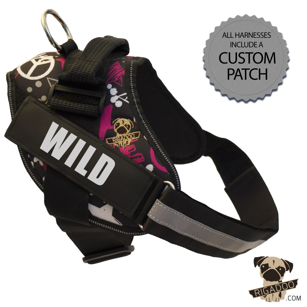 Rigadoo Dog Harness - Wild