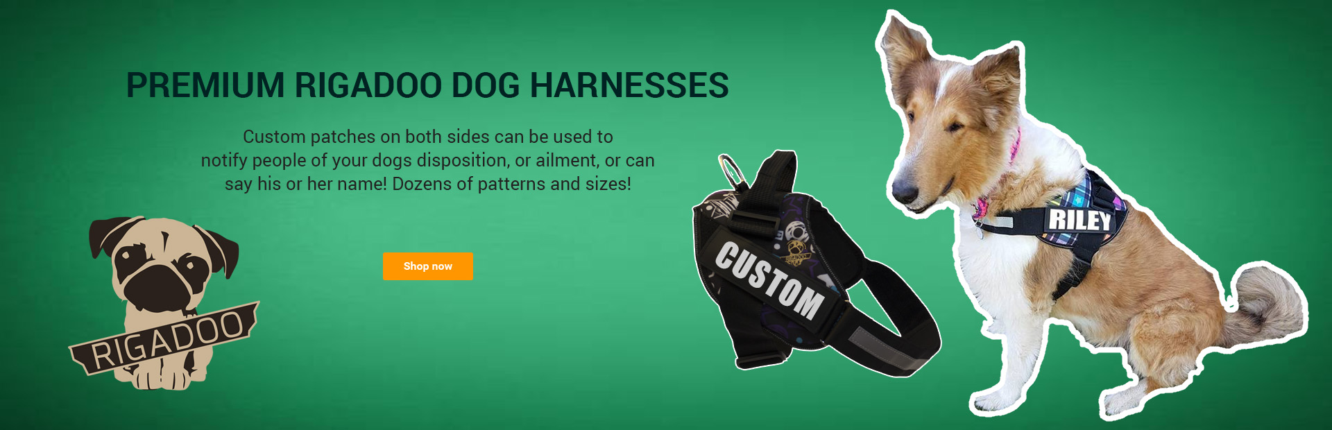 Rigadoo Custom Dog Harness